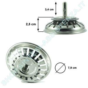 Tappo Cestello Per Lavello Cucina Foster Smeg Diametro 7 9 Cm 8669023 Ebay