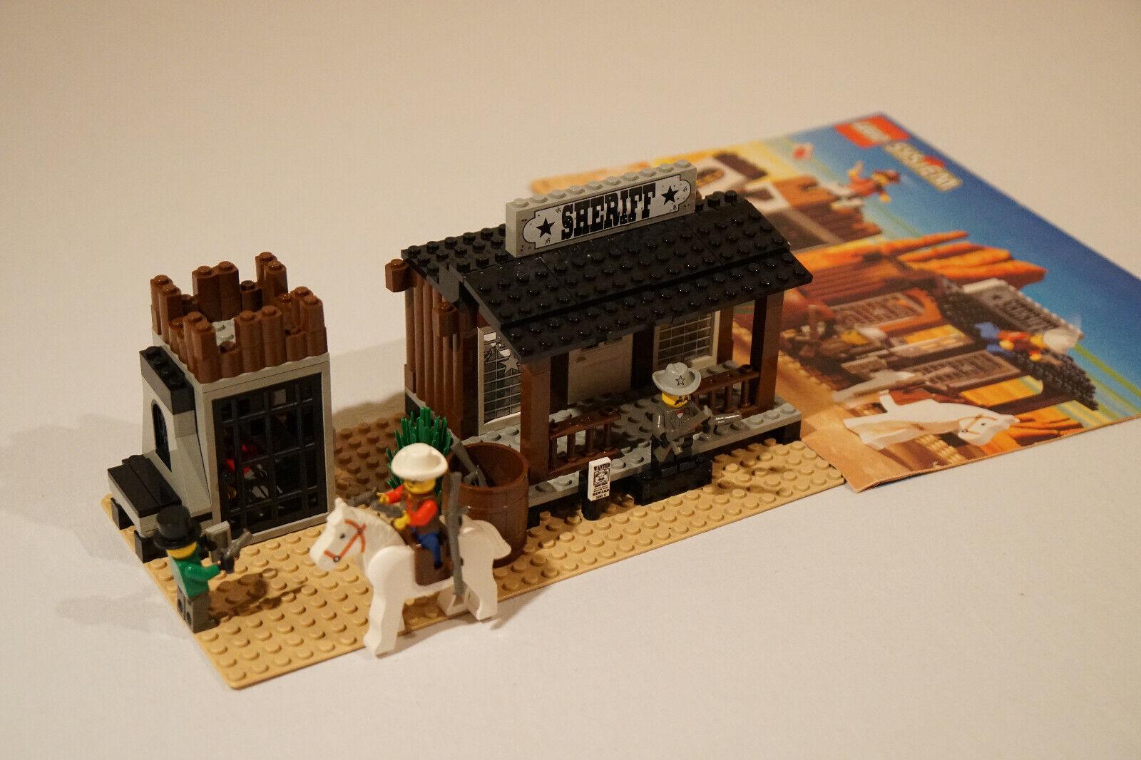 Lego Wild West     Set 6755   Sheriff's Office and Jail   Komplett   aus Sammlung 817085