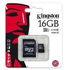 Kingston Class 10 - MicroSDHC Card - (SDC10G2/16GB)