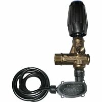 VRT3 Adjustable Unloader for Pressure Washer Pump 4500 PSI w/ Pressure Switch