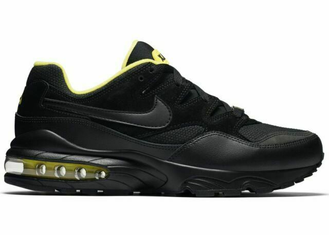 Size 10 - Nike Air Max 94 SE Black Tour Yellow for sale online | eBay