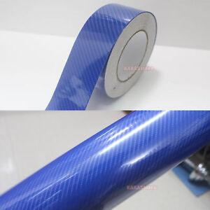 DIY-Car-Blue-5D-Glossy-Mirror-Carbon-Fiber-Vinyl-Tape-Wrap-Sticker-Decal-Film-AB