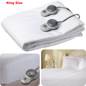 Sunbeam Heated Mattress Pad KING SIZE Protector Cover ...