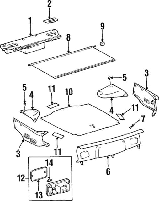 Buy Toyota Supra Mkiv Lt Inner Quarter Wheelhouse Cover Jza80 Trim