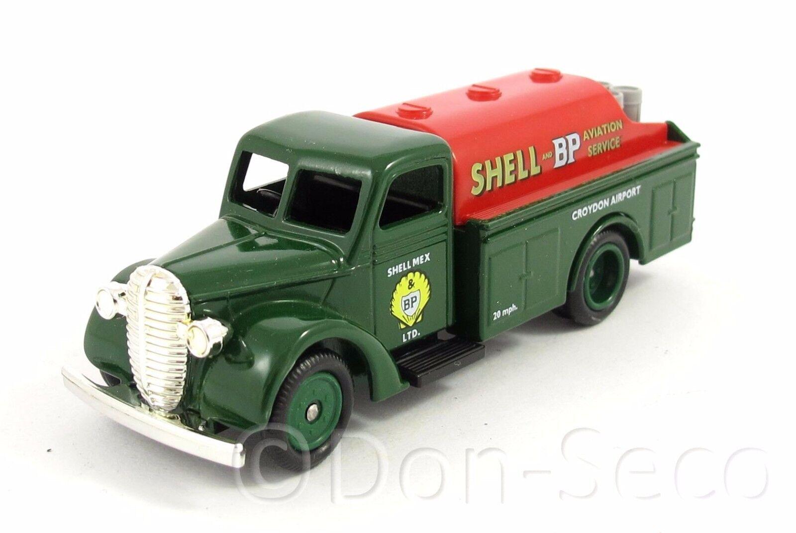 Lledo Days - Gone - 1939 Ford Tanker Shell-BP Aviation - Box - TOP