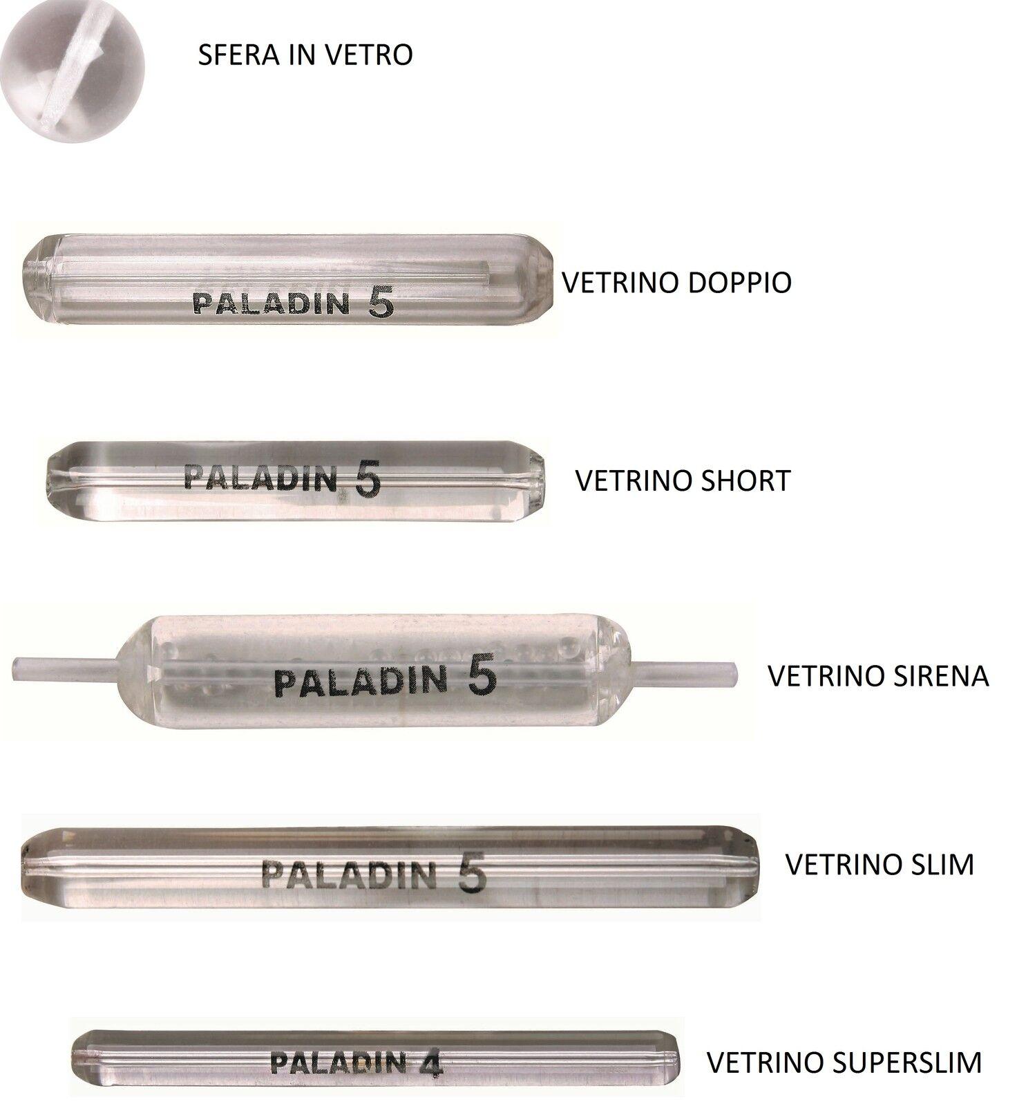 Paladin Vetrino Slim Glas Ventrinos zum Tremarella Angeln Glasgewicht