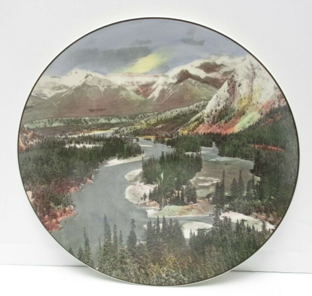 Vintage Royal Doulton decorative plate,Bow Falls.