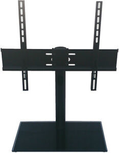 Image Is Loading Table Top TV Stand Swivel Universal Replacement Tabletop