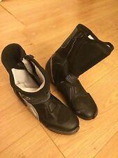 Good Condition Dainese Boots Titanium Carbon Size 9 Eu 42