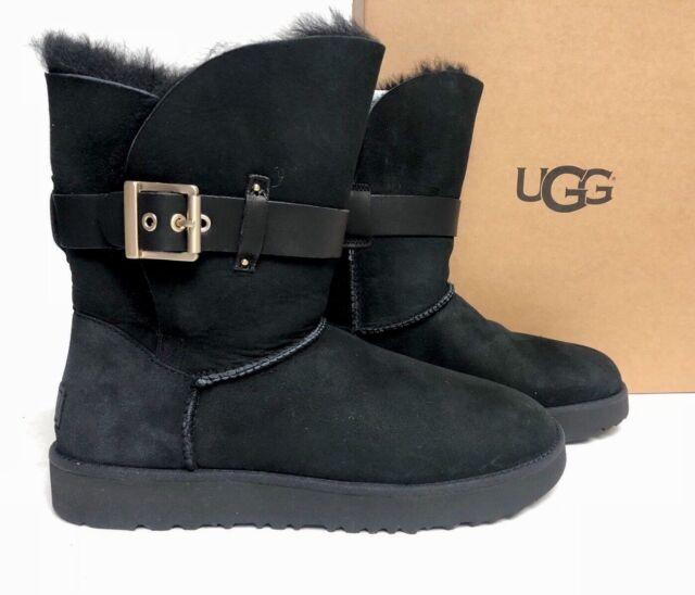 9502b1fd69c UGG Australia Jaylyn Black Womens Winter BOOTS 5
