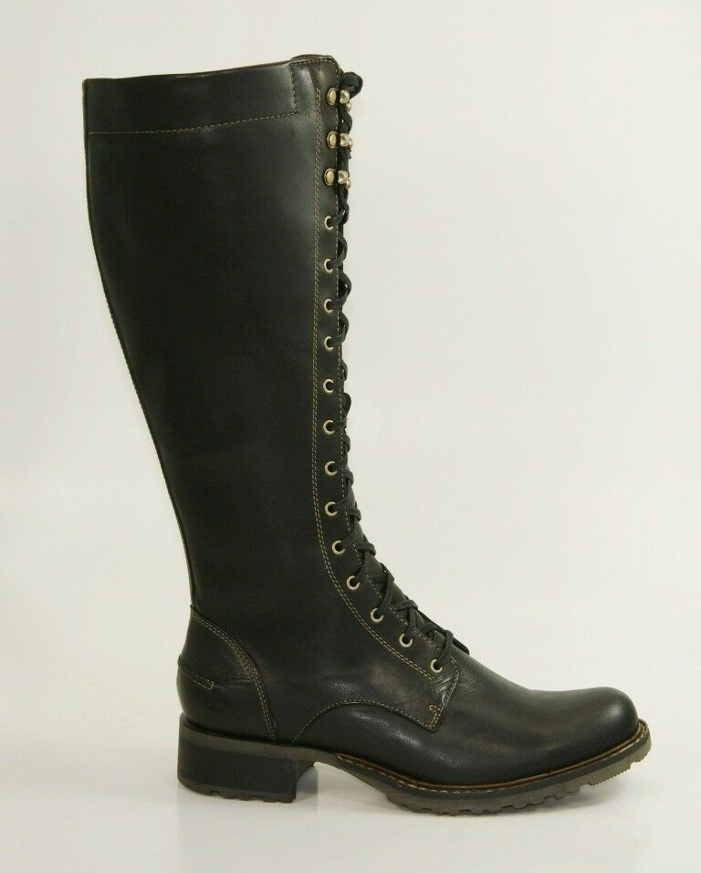 Sebago Saranac Waterproof bottes bottes bottes T 38 US 7,5 Bottes Femmes délaçage b43175 f2bfc9