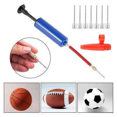 Ball Pump Sports Balls Handheld Air Inflator Needle Basketball Soccer Volleyball