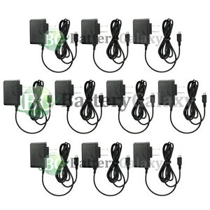 10 Micro USB Wall Charger for Alcatel HTC LG Motorola Samsung Phone 1,200+SOLD