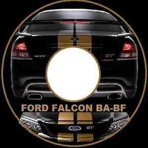 ford fairmont falcon ba bf xr6 xr8 fpv gtp ute wagon sedan repair