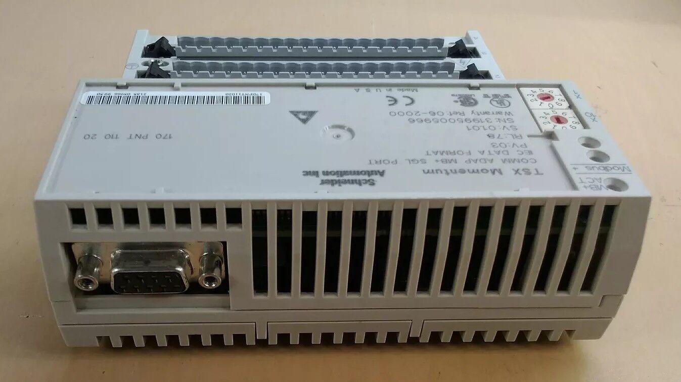Schneider TSX impulso base 170PNT11020 Comm ADAP, base impulso de E/S 170ADM54080 3E 347bf2