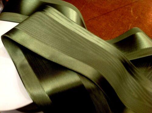 """Moire 2/"""" Japon Ruban Satin Bord MOIRE réversible 1 Yd plissage Ruban Sash environ 0.91 m"""