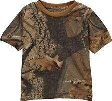 Infant /& Toddler Girls Realtree//Mossy Oak  White Long Sleeved T-Shirt Sz 9mo-4T