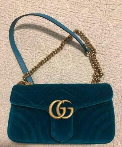 Gucci bag authentic handbag velvet