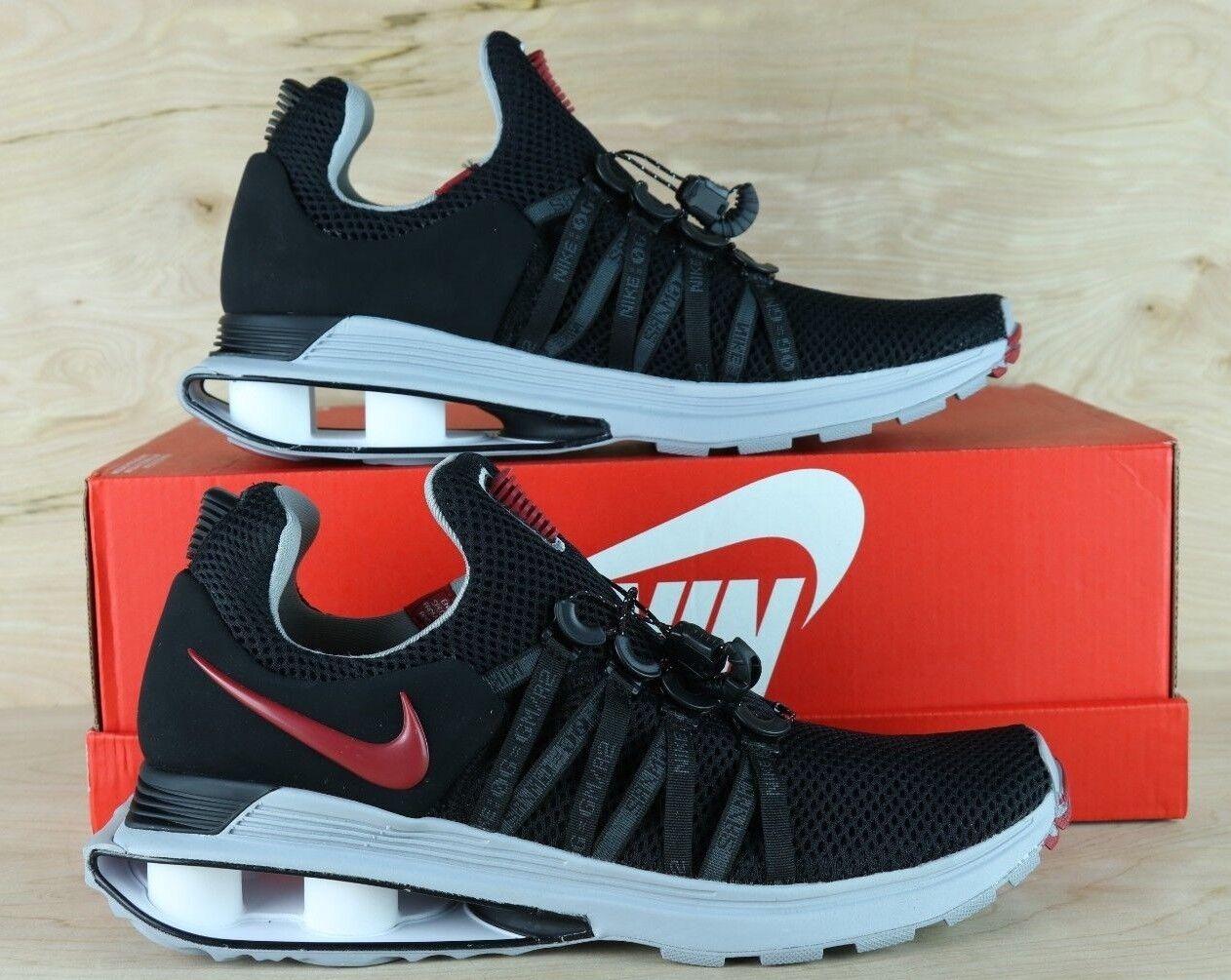 Nike SHOX Gravity Mens Running shoes Black Varsity Red AR1999 016 [ Multi Size ]