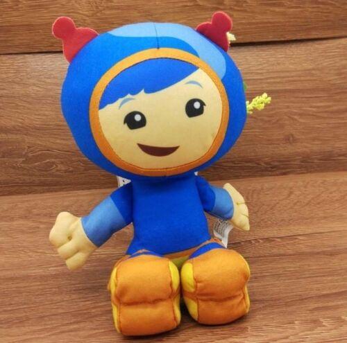 3PC//Set TEAM UMIZOOMI Bot MILLI Geo Plush 9 Inch Doll  Kids Toy UK Christmas