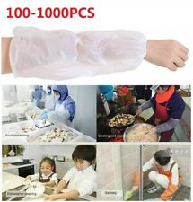 Coxeer 100PCS Disposable Sleeve Cover Protective Disposable Arm Sleeve Covers for Home