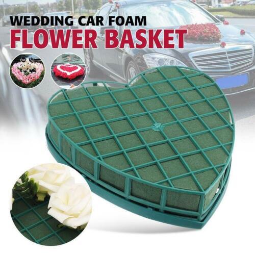 20CM Heart Shape Flower Foam Floral Fresh Party Wedding Car Table Car Gift New