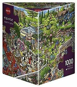 Heye - 1000 Pezzi Triangolare Puzzle Festa Gatti HY29838