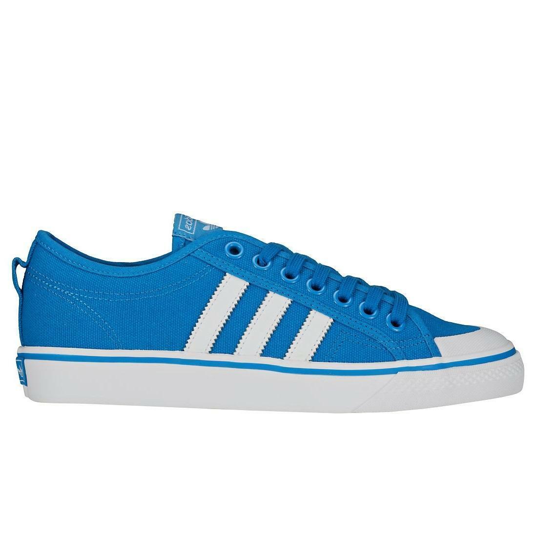 Mens ADIDAS NIZZA blu  Trainers CQ2330  sport dello shopping online