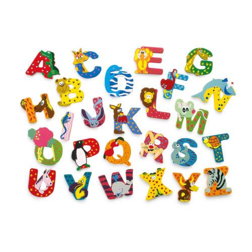 """Legler 4650 Buchstaben /""""Tiere/"""" aus Holz von A-Z Holzbuchstaben NEU!#"""