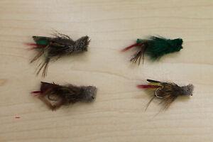 Hopper, Trockenfliege,Grashüpfer, Dryfly,  4 Stk