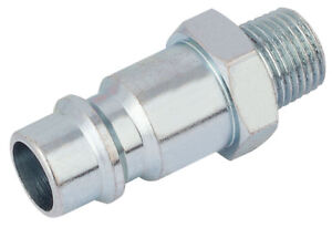 "1/8"" Bsp Male Nut Pcl Euro Coupling Adaptor (Sold Loose) Draper 54414"
