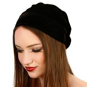 69517e2ec56 Image is loading Kristin-Perry-Velvet-Stretch-Slouchy-Beanie-Knit-Hat-