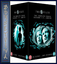 THE X FILES - COMPLETE SERIES 1 2 3 4 5 6 7 8 & 9 + 2 MOVIES *BRAND NEW  BOXSET*