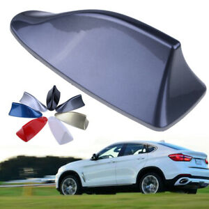 1PCS-Universal-Grey-Car-Auto-Shark-Fin-Roof-Antenna-Dummy-Fake-Decorative-Aerial