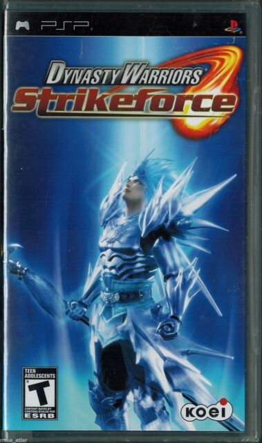 Dynasty Warriors: Strikeforce (Sony PSP, 2009) Factory Sealed