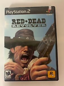 Red Dead Revolver Play Station 2 Game Used A07