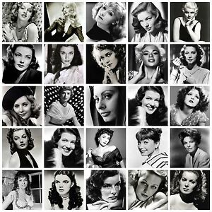 Image Is Loading Black And White Films Star Actresses Movie
