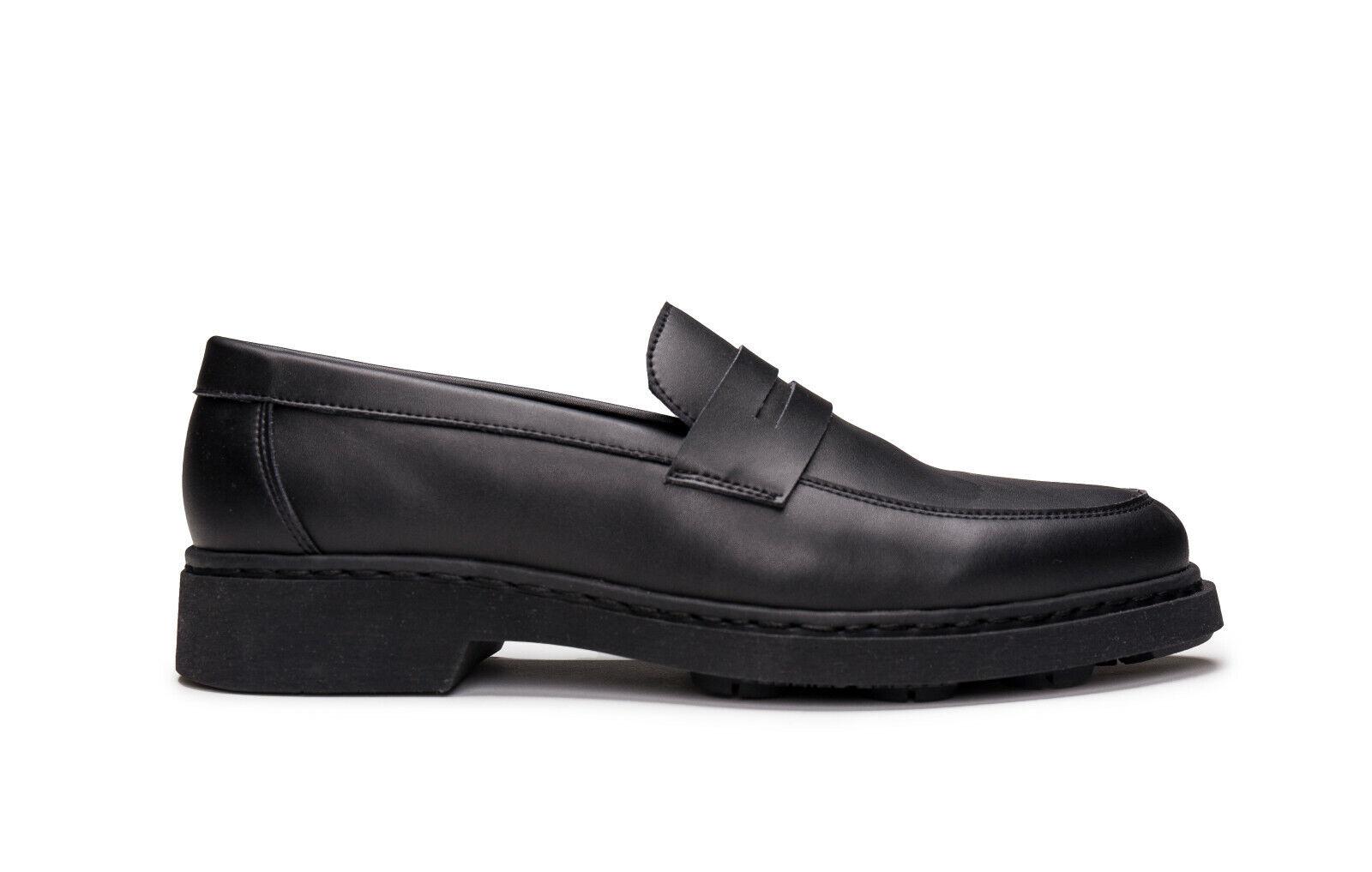 Vegane Schuhe Flach Loafer Mokassin Elegant atmungsaktiv gefüttert Rutschfest