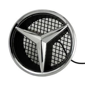 Illumine-LED-lumiere-Embleme-Logo-Grille-LED-Badge-Avant-pour-Mercedes-Benz-NEUF