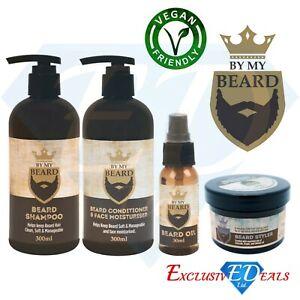 By-My-Beard-Shampoo-Oil-Conditioner-amp-Moisturiser-Facial-Hair-Mens-Gift