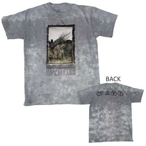 New Led Zeppelin Rock Metal Band Standard shirt black tshirt mens free shipping
