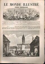 LE MONDE ILLUSTRÉ - N°312 - 04/04/1863 - EXPOSITION CONSTANTINOPLE - PROCESSION