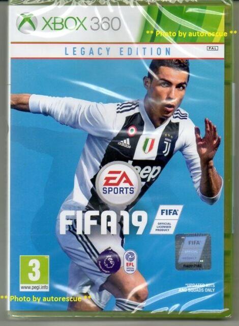 FIFA 19 Legacy Edition  'New & Sealed'  *XBOX 360*