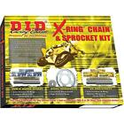 D.I.D - DKY-012 - X-Ring Chain and Sprocket Kit