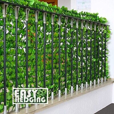 Artificial Ivy Leaf Roll Privacy Hedging Garden Wall Fence ...