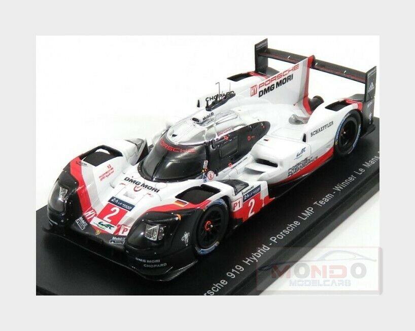 Porsche 919 Hybrid 2.0L Turbo V4 Lmp Winner Le Mans 2017 SPARK 1 43 43LM17