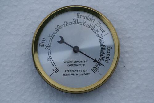 Hygrometer 54mm Durchmesser Erhältlich in A Auswahl Dial