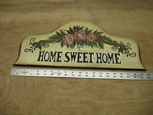 Home Sweet Home Farmhouse Sign Rustic Shelf Sitter Home Decor Wall Art Print