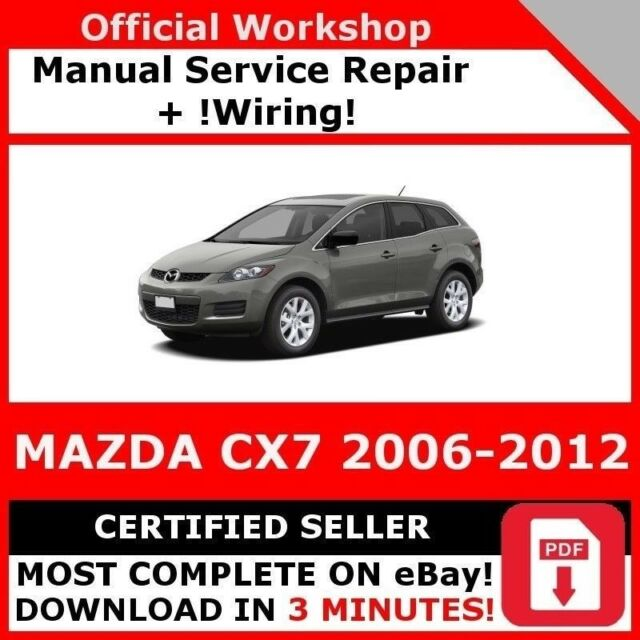 Mazda Mpv 2006 Dealer Workshop Manual And Wiring Diagrams