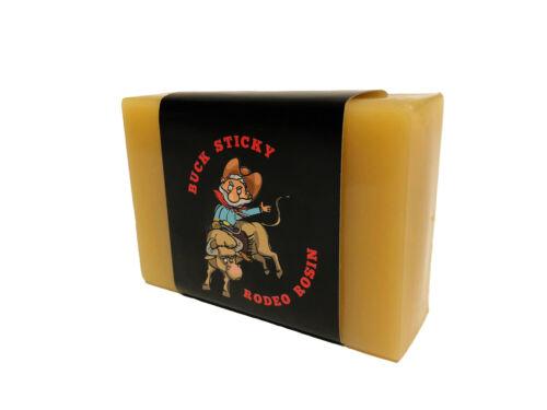 BUCK STICKY Rodeo Rosin Bull Riding Gear Buck Bar Grip Enhancer